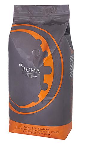 Кофе в зернах El Roma Via Appia 1 кг