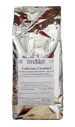 Сухие сливки VendMart Latticino Creamer 1кг