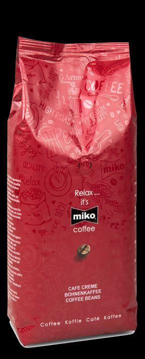 Кофе зерновой MIKO Classic