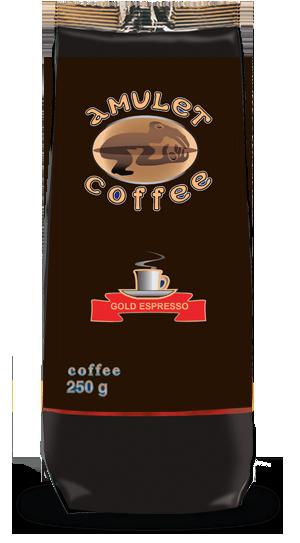 Кофе растворимый сублимированный AMULET Gold Espresso