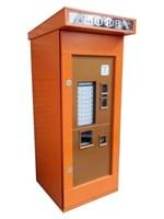 уличный бокс для торгового автомата