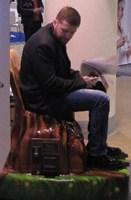 Вибромассажное кресло «Пенёк»