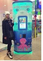 автомат по продаже игрушек в капсулах Море Игрушек
