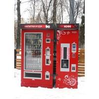 Уличный бокс для кофейного автомата Россо Стрит
