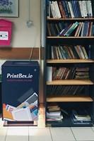 Ранняя модификация автомата PrintBox, установленная в общежитии