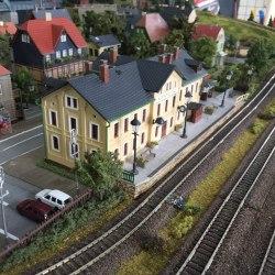 игровой вендинг, железная дорога, Alpenroad, интерактивная железная дорога, железнодорожный макет, вендинговый макет