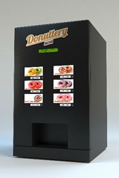 Автомат по продаже выпечки Donuttery mini, пончикомат Donuttery,  Донатерия мини