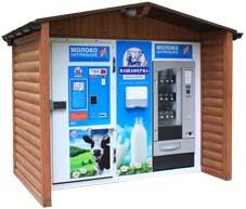 Автомат по продаже молока, молокомат фудмилк
