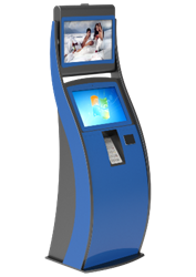 DOUBLE SCREEN PAYMENT KIOSK