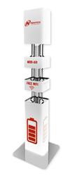 Автомат зарядки мобильных телефонов MOBI air напольный
