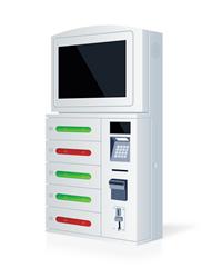 автомат для зарядки мобильных MOBI wall