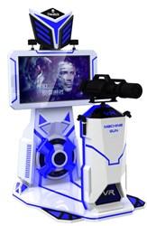 Виртуальная реальность,виар,VR ,Machine gun,