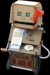 Робот Фанерочка, Деревянный робот, Робот из фанеры