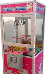 Развлекательный аппарат по  выдаче игрушек, хватайка. кран-иашина