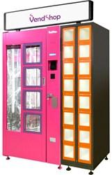 Комбинированный автомат для продажи цветов, сувениров, кондитерских изделий