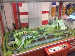 макет железной дороги, железная дорога, диарама