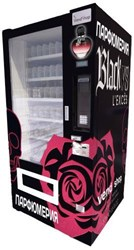 Автомат по продаже парфюмерии, вендинговый аппарат для продажи  парфюмерии, автомат по продаже духов SM 6367
