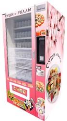 Автомат по продаже суши, вендинговый аппарат для продажи суши и роллов, вендинговый автомат по продаже роллов и суши, сушимат