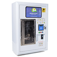 Уличный автомат по продаже воды