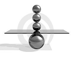 Логотип Идеальный баланс