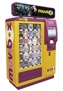 Автоматы по продаже дисков и DVD