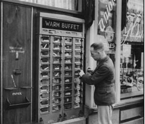 Автомат-буфет или  снековый автомат  50-70-х годов от 1 августа 2013 г.
