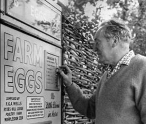 Автомат по продаже яиц, 50-70-е годы от 1 августа 2013 г.