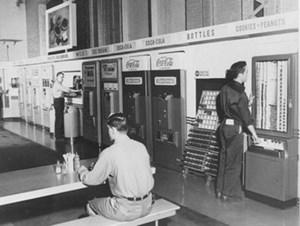 Автоматизированный магазин  50-70-х годов от 1 августа 2013 г.