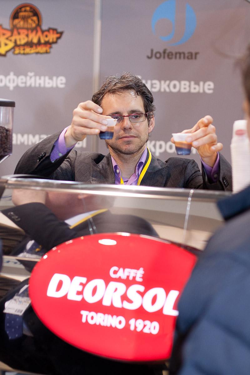 Дегустация кофе на выставке VendExpo 2013 от 30.10.2013 0:00:00