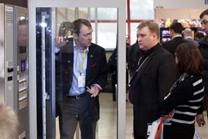 Vending Expo 2013 - стеклянные двери Jofemar от 30 октября 2013 г.
