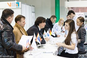 VendExpo 2012. Стойка регистрации от 6 ноября 2013 г.