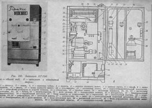 Советский торговый автомат АТ-754 с ГОСТом от 15 января 2014 г.