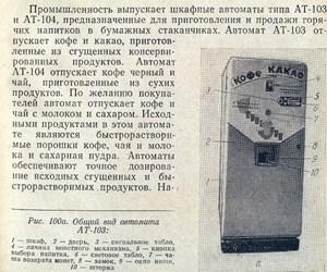 Описание торговых автоматов времен СССР от 15 января 2014 г.