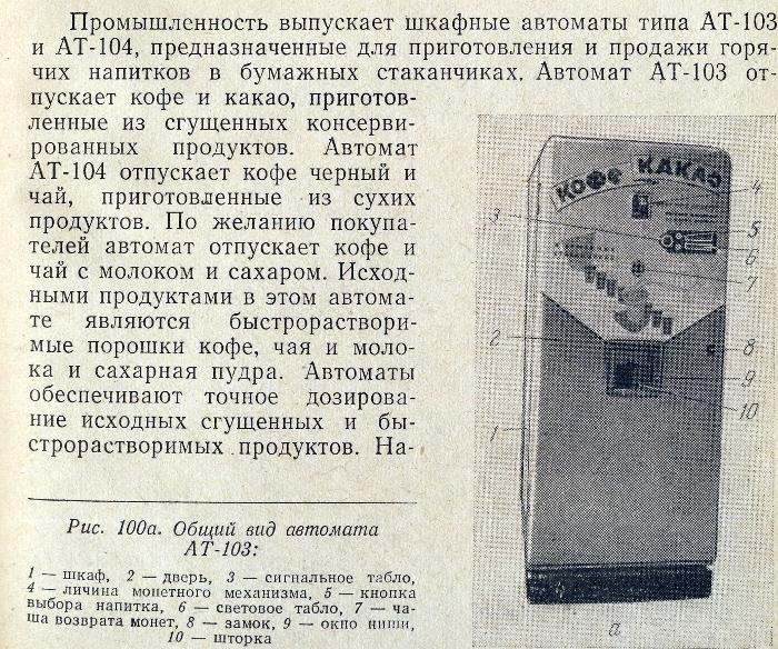 Описание торговых автоматов времен СССР от 15.01.2014 0:00:00