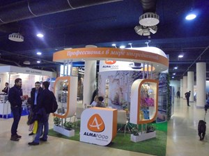 Алмафуд на выставке VendingExpo Россия 2016 от 28 марта 2016 г.