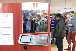 Вендинговые аппараты Уникум на VendExpo 2016 от 29 марта 2016 г.
