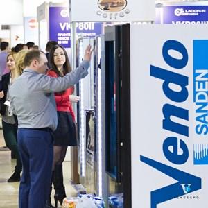 Торговые автоматы Вендо. ВендЭкспо 2016 от 29 марта 2016 г.