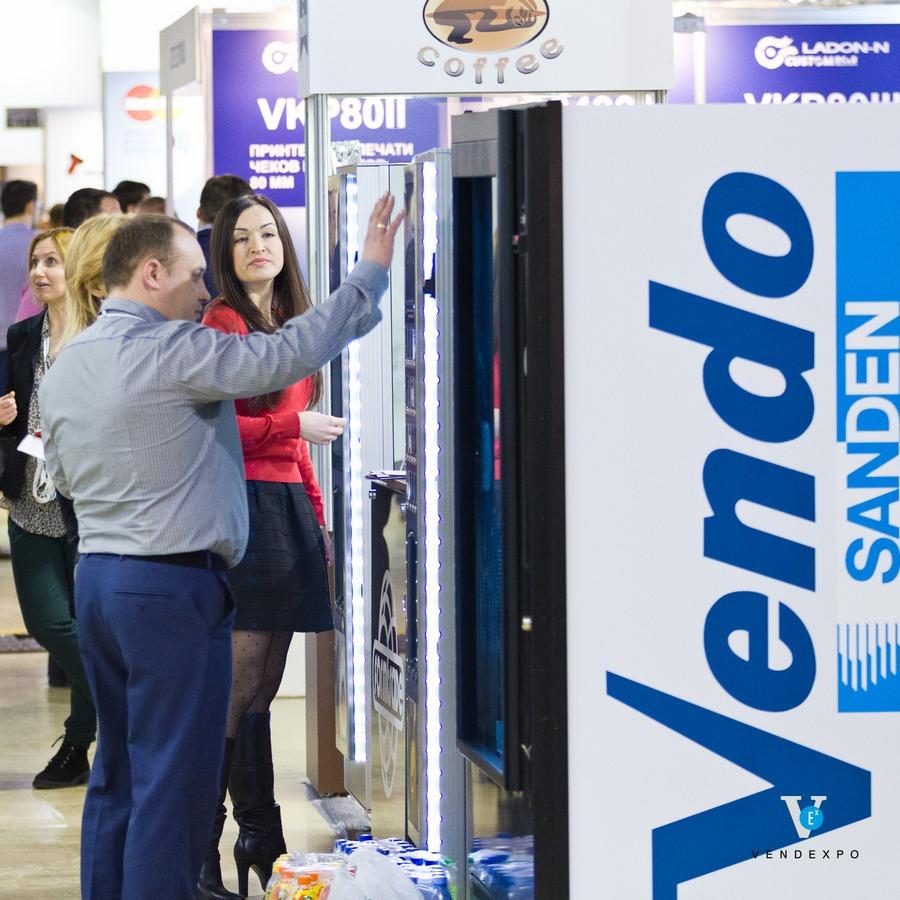 Торговые автоматы Вендо. ВендЭкспо 2016 от 29.03.2016 0:00:00