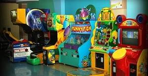 Обзор детских игровых автоматов