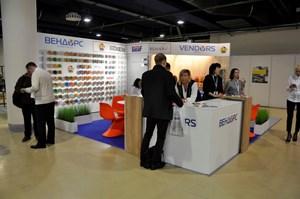 Стенд компании Вендорс. Выставка VendingExpo 2017 от 1 марта 2017 г.