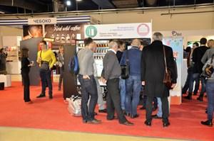 Зал платежно-карточных решений в вендинге, выставка VendingExpo 2017 от 2 марта 2017 г.