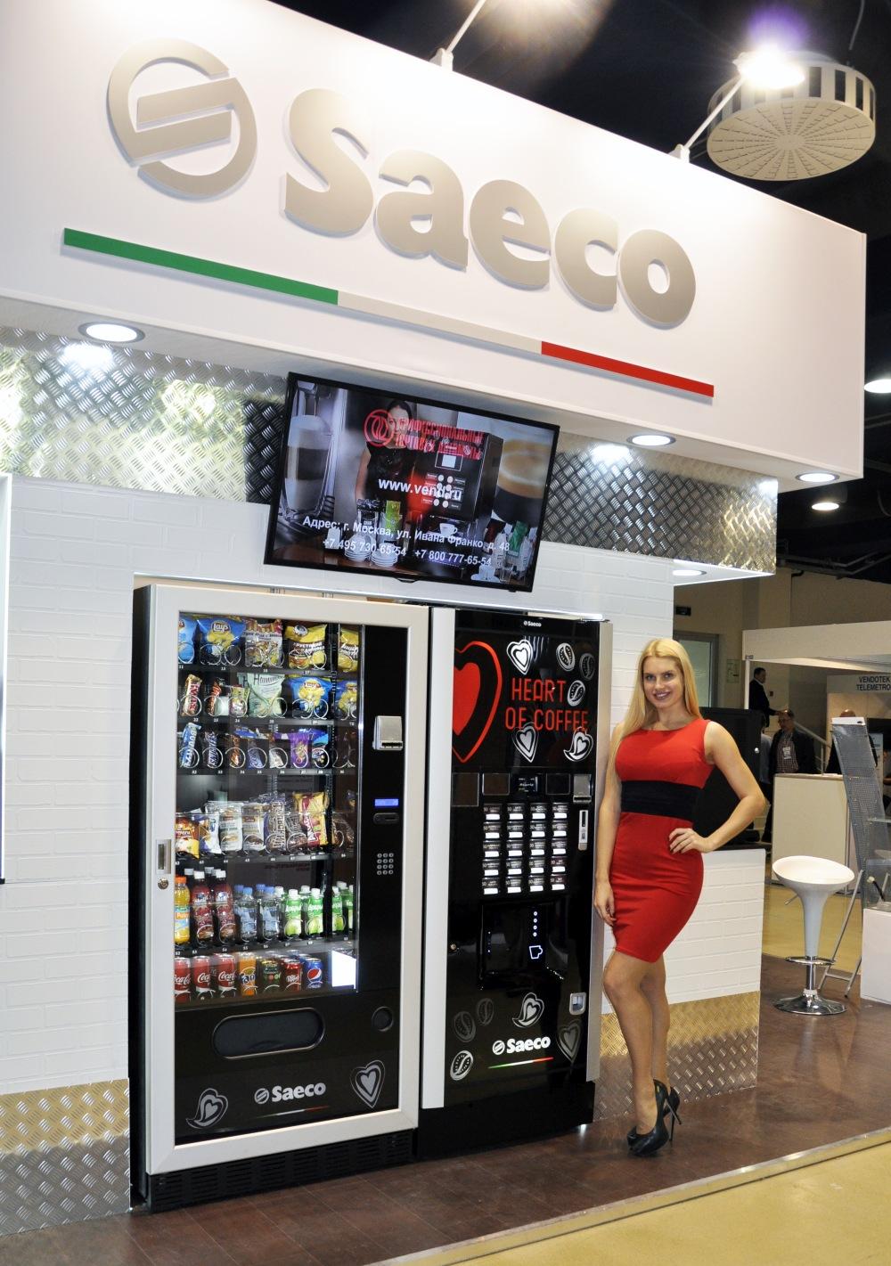 Новинки Saeco! Связка торговых автоматов  MegCold L + Atlante 700 Big Cups. VendExpo 2017 от 03.03.2017 21:00:00