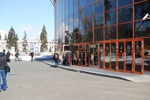 VendExpo 2018. Двери и вход в павильон от 2 апреля 2018 г.