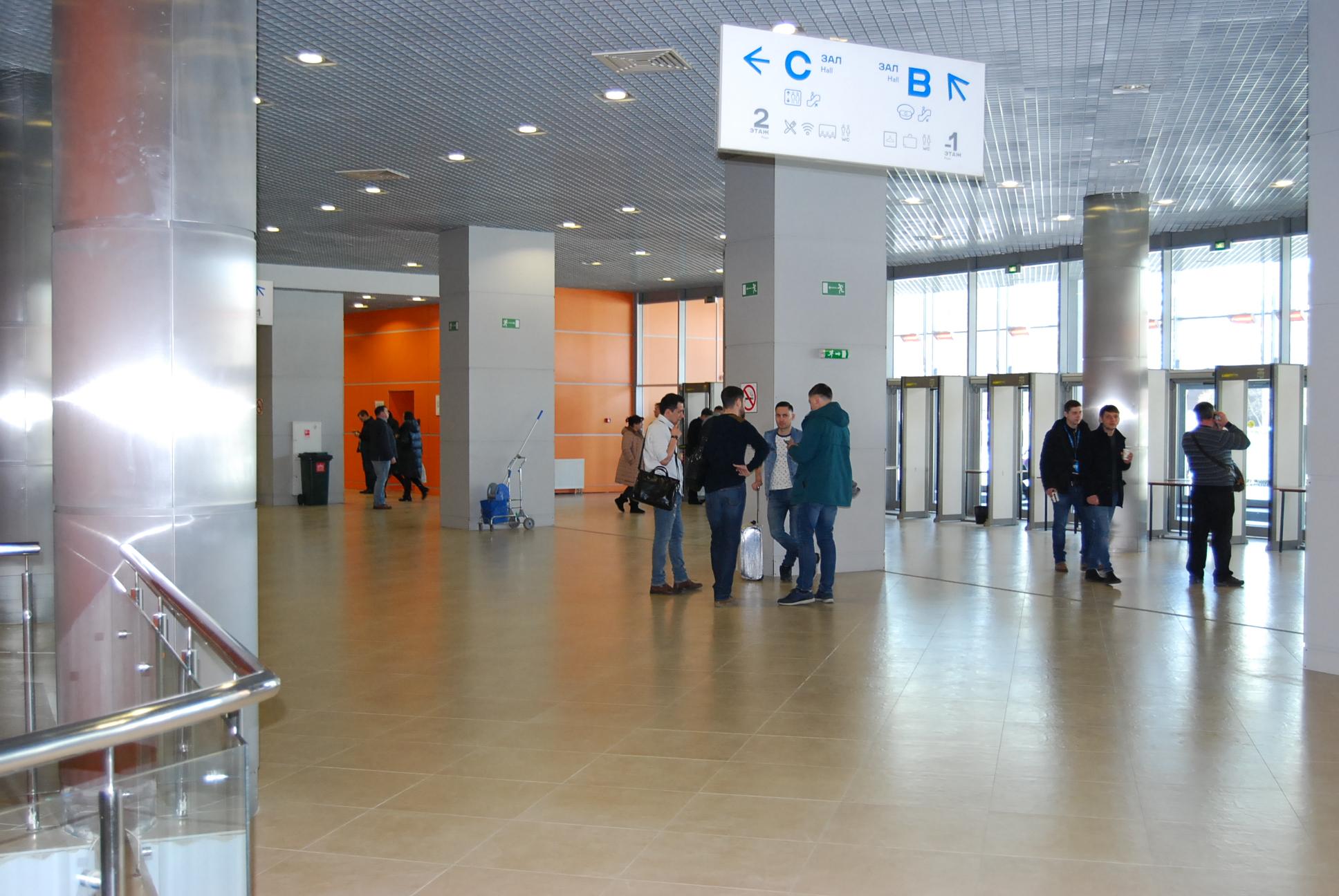 VendExpo 2018. Вход в павильон изнутри от 02.04.2018 9:15:00