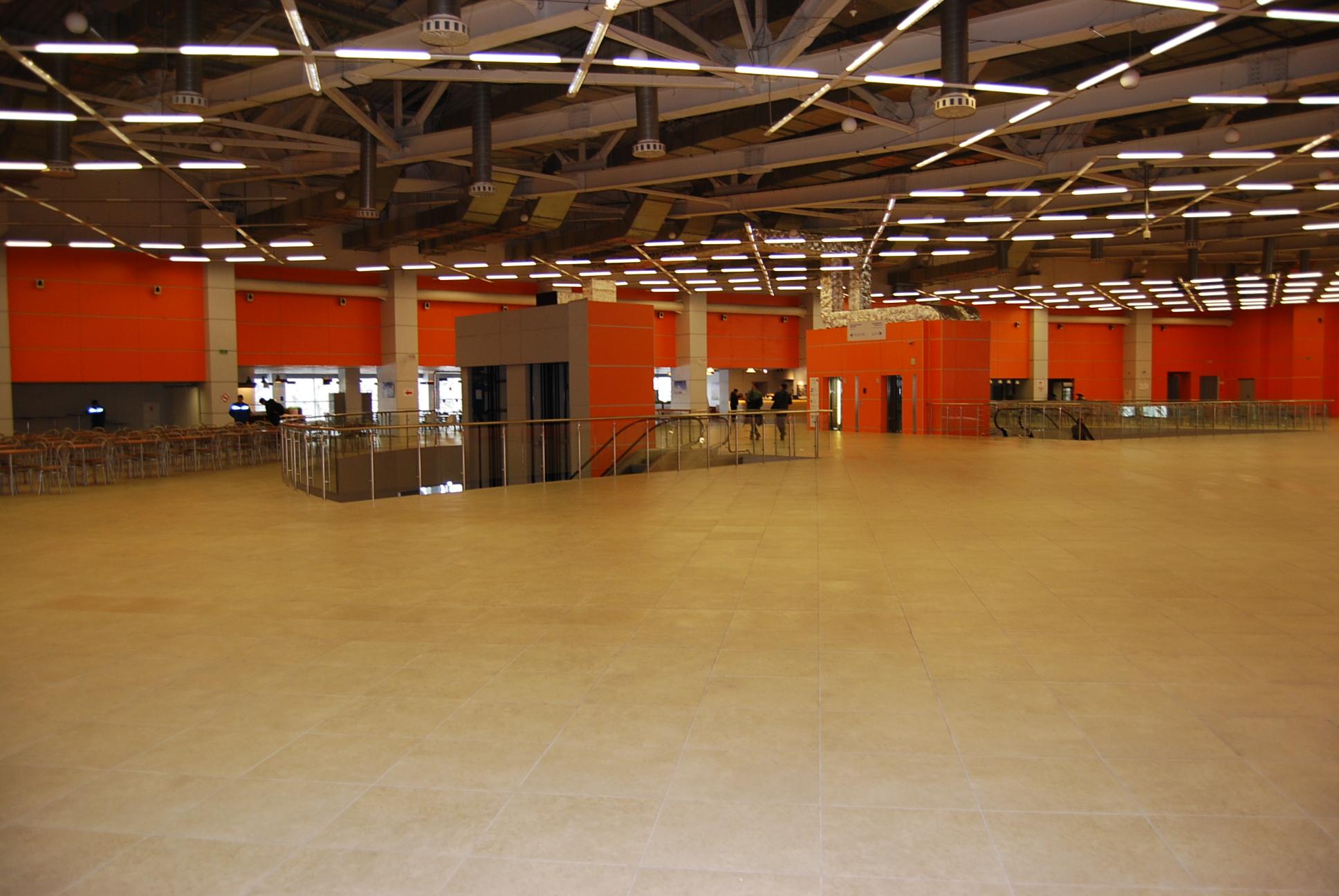 VendExpo 2018. Второй этаж павильона с кафе от 02.04.2018 11:35:00