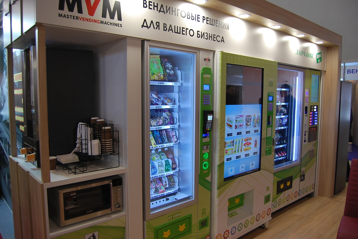 Снековые автоматы MVM от Вавилона на VendExpo 2018 от 03.04.2018 9:42:00