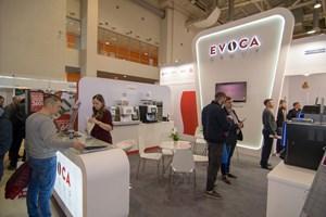 Стенд EVOCA на VendExpo 2018 от 3 апреля 2018 г.