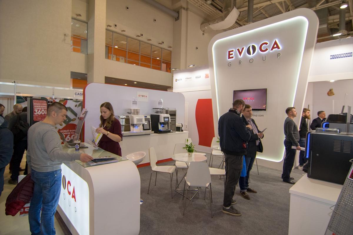 Стенд EVOCA на VendExpo 2018 от 03.04.2018 9:46:00