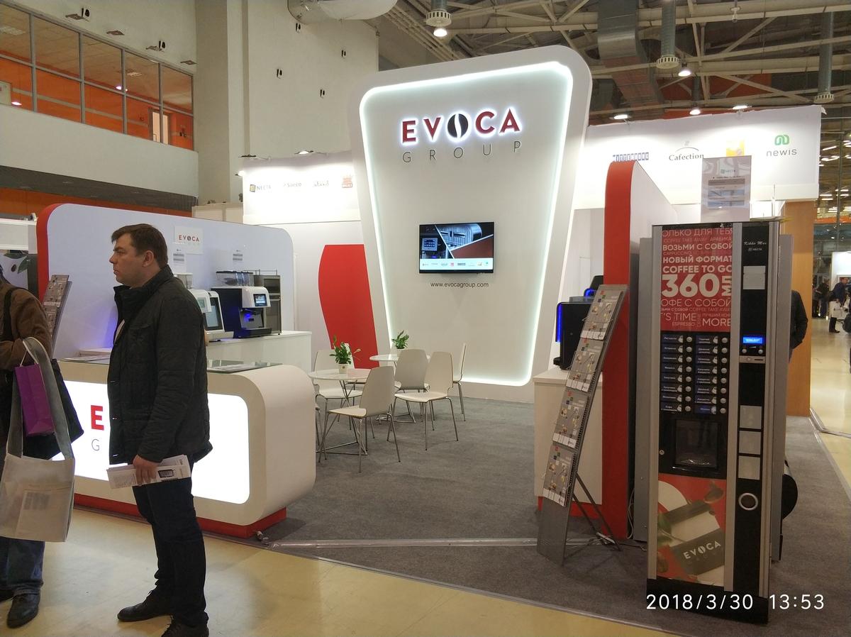 ВендЭкспо 2018. Стенд EVOCA Group от 03.04.2018 9:51:00