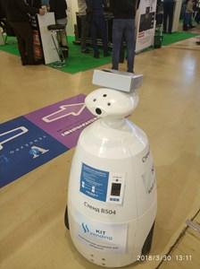 Робот на выставке ВендЭкспо 2018 от 3 апреля 2018 г.
